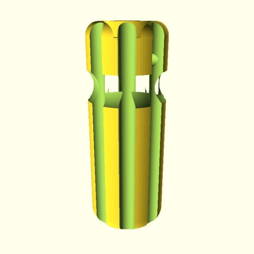 8e6cc97b0413842591342f7212a1dc08.png Download free SCAD file Customizable Hole Reamer • 3D printer design, Greg_The_Maker