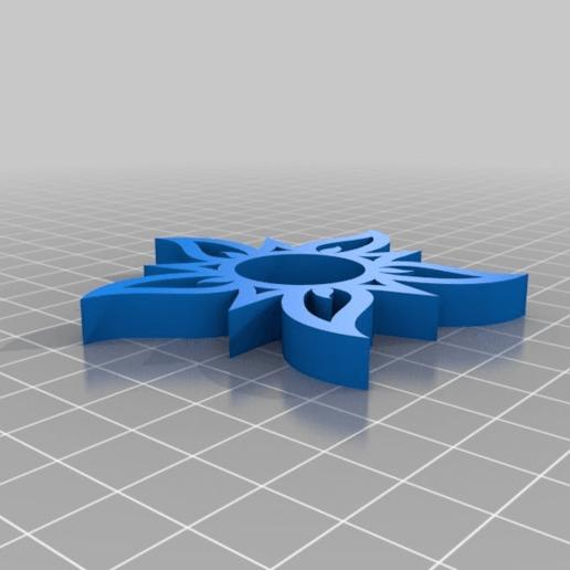 c52e2e1bfd37067f683eaad9233bbf2f.png Télécharger fichier STL gratuit La Tourneuse de soleil Fidget | 608ZZ • Plan pour imprimante 3D, Greg_The_Maker