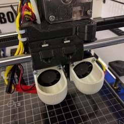 Télécharger modèle 3D gratuit Enveloppe de ventilateur dissipateur de chaleur E3D V6 pour l'impression à haute température., Greg_The_Maker
