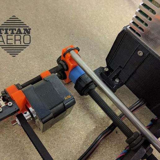 prusa_02.jpg Download free STL file Original Prusa i3 MK2 E3D Titan Aero Upgrade • Design to 3D print, Greg_The_Maker