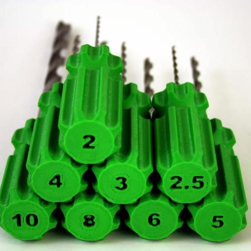 sizes.jpg Download free SCAD file Customizable Hole Reamer • 3D printer design, Greg_The_Maker