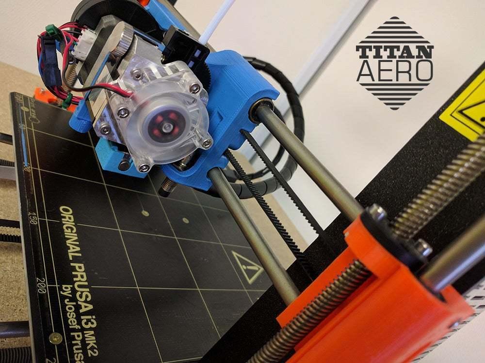 prusa_01.jpg Download free STL file Original Prusa i3 MK2 E3D Titan Aero Upgrade • Design to 3D print, Greg_The_Maker