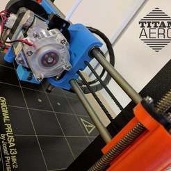 Download free STL file Original Prusa i3 MK2 E3D Titan Aero Upgrade, Greg_The_Maker