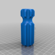Download free STL file Set Of Reamers (10mm - 2mm). • 3D print object, Greg_The_Maker