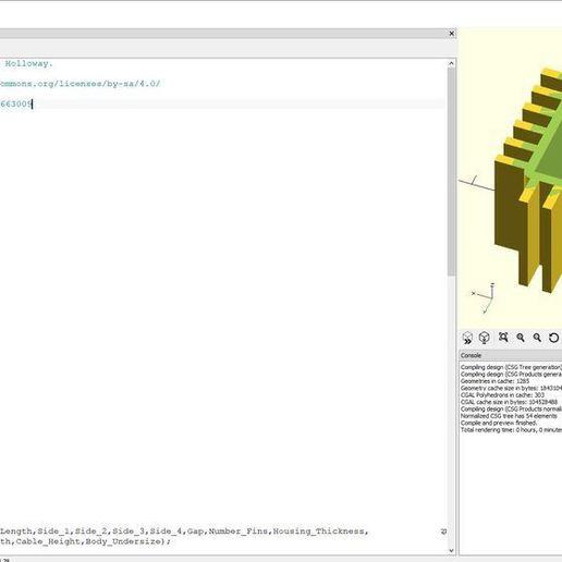 Download Free 3d Printing Files Parametric Stepper Motor Heat Sink Cults