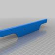 Download free STL file Kyosho Landjump / Vanning Replica Bumper. • 3D printer model, Greg_The_Maker