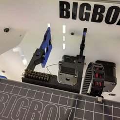 Download free STL file BigBox IDEX Bowden Brushed Wiper • 3D print model, Greg_The_Maker
