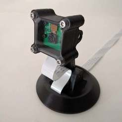 Download free 3D printing models Raspberry Pi Camera Desktop Stand, Greg_The_Maker