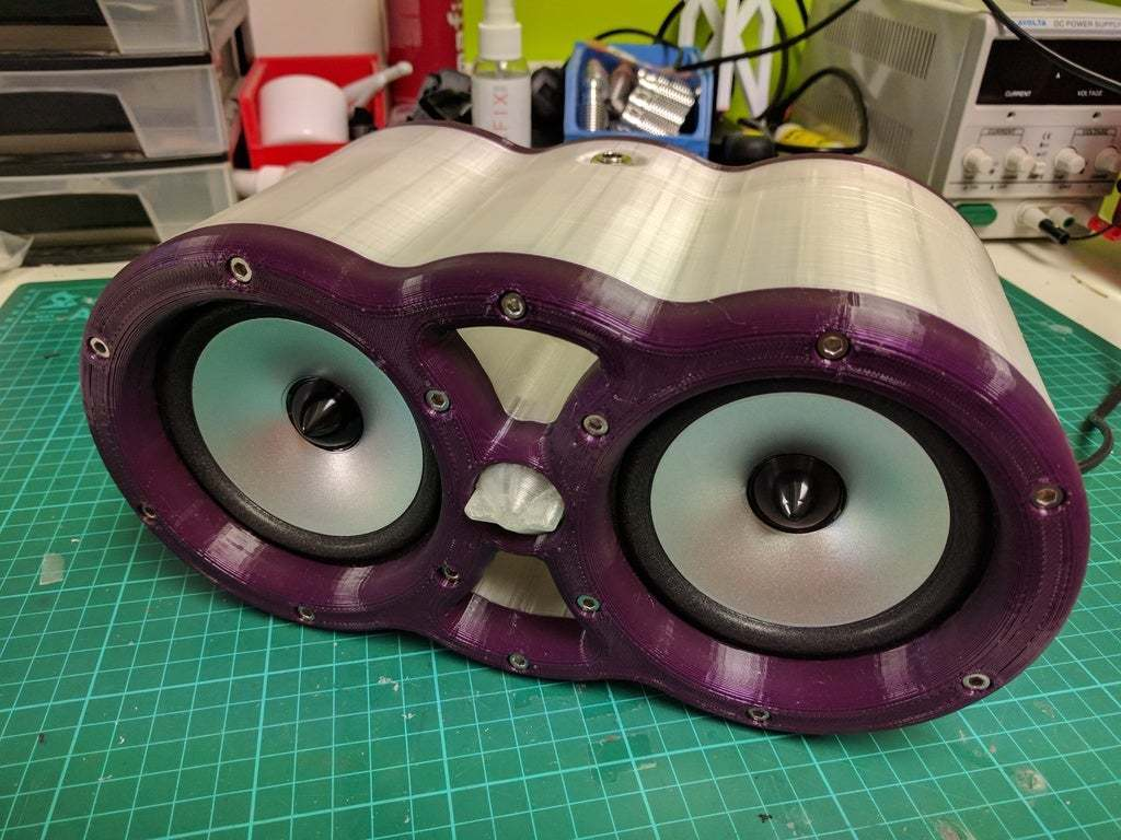 2017-08-09_16.15.36.jpg Download free STL file Electric Musical Instrument 3D Printed Amplifier. • 3D printing model, Greg_The_Maker