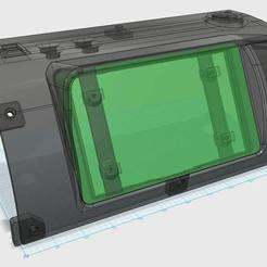 Download free STL file Suzuki Jimny In-Dash GPS - Raspberry Pi • 3D printing template, Greg_The_Maker