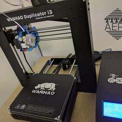 thing_01.jpg Download free STL file Wanhao Duplicator i3 V2.1 E3D Titan Aero Upgrade • 3D printing design, Greg_The_Maker