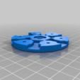 Télécharger fichier imprimante 3D gratuit SpoolWorks Echafaudage Support soluble Spool Carrier, Greg_The_Maker