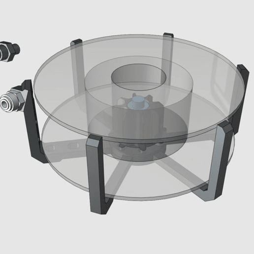 scaffold_spool_holder.png Télécharger fichier STL gratuit SpoolWorks Echafaudage Support soluble Spool Carrier • Plan pour imprimante 3D, Greg_The_Maker