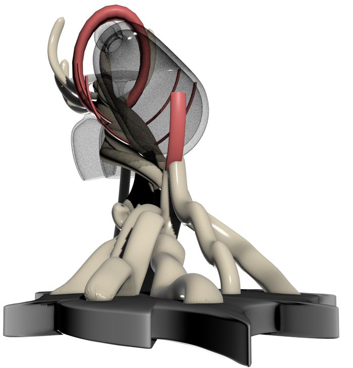 5.JPG Télécharger fichier 3DS gratuit Le Prévin, présentoir de bouteille de vin élégant • Objet pour impression 3D, stefsanchez34670