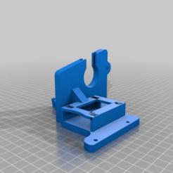 Download free STL file Anet A8 - Left Bracket + SD Extension Holder • 3D printer design, asazer