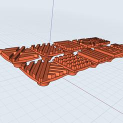 Impresiones 3D Juego de sellos de arcilla/cookie/polímero de arcilla, Dsignrcmc