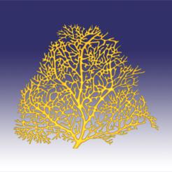 seafan 1.png Download OBJ file Seafan coral • 3D printer template, Dsignrcmc