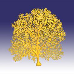 seafan3.png Download OBJ file Seafan coral • 3D printer template, Dsignrcmc