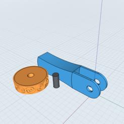 Descargar STL Rollo de arcilla/cookie/polímero con patrón de arcilla, Dsignrcmc