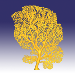 seafan 2.png Download OBJ file Seafan coral • 3D printer template, Dsignrcmc