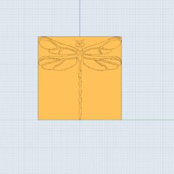Descargar archivos 3D Arcilla de Dragonflay/arcilla de polímero/ sello de galleta, Dsignrcmc