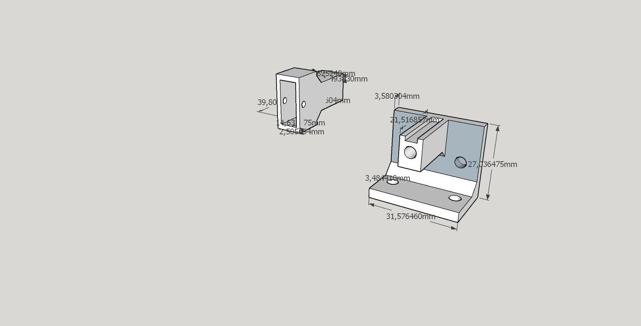 tensor para apoyar con polea aluminio 2.2.jpg Download free STL file Tensioner with GT2 pulley • 3D printable model, marceloeserafino