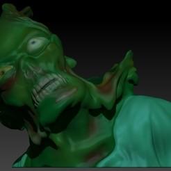 zombie planter.jpg Download OBJ file Zombie planter • Model to 3D print, Alquimia3D