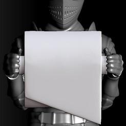 toilet paper knight.jpg Télécharger fichier OBJ Porte-papier hygiénique Knight • Objet pour impression 3D, Alquimia3D