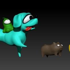 among us pets.jpg Download OBJ file Among us pets. • Model to 3D print, Alquimia3D