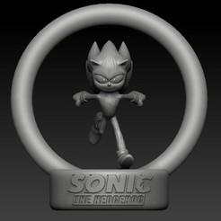 Download 3D printer templates Sonic movie style, scolarijulio