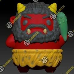 ONI RED grinder.jpg Download OBJ file ONI RED GRINDER • 3D printer object, Alquimia3D