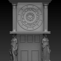 Download STL Saint Seiya clock tower, Alquimia3D