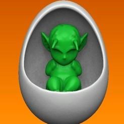 bebe picolo.jpg Télécharger fichier OBJ Bébé Piccolo • Design pour imprimante 3D, Alquimia3D