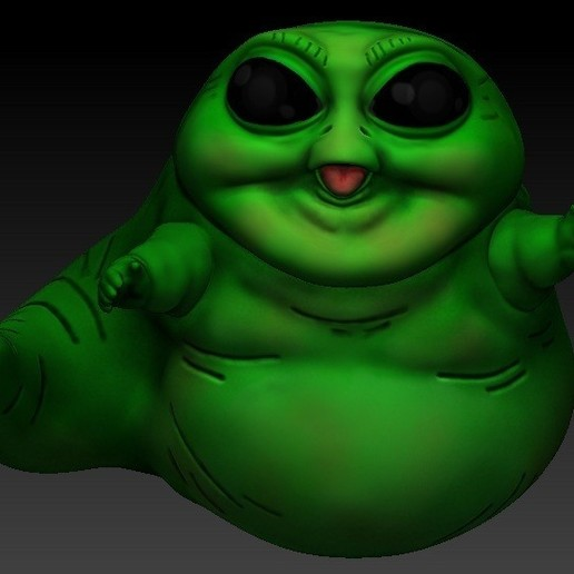 Download 3D model Baby jabba, scolarijulio