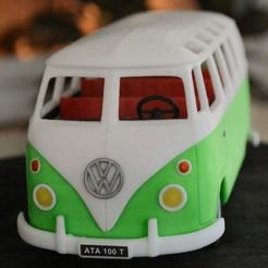 3D printer models hippies van, PatX