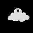Download 3D printer designs Pendant cloud, emilie3darchitecture