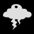 stl file Lightning Cloud Pendant, emilie3darchitecture