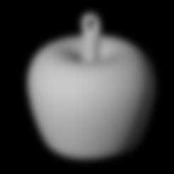 stl files Apple Pendant 3D, emilie3darchitecture