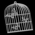 Pendentif Cage papillon.jpg Download 3DS file Butterfly Cage Pendant • 3D printing design, emilie3darchitecture