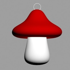 Download 3D printer model Mushroom pendant., emilie3darchitecture