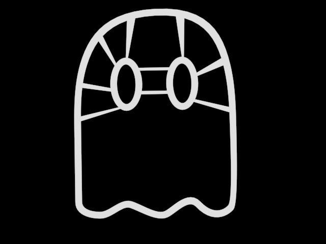Emporte piece Fantome.jpg Download 3DS file Ghost piece cutter • 3D printing model, emilie3darchitecture