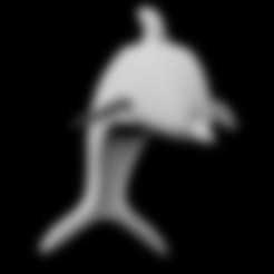 STL files Dolphin pendant, emilie3darchitecture