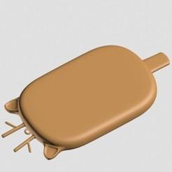 Imprimir en 3D Colgante de Reno de Navidad, emilie3darchitecture