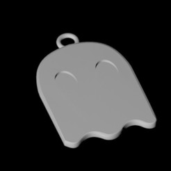 3d printer designs Ghost pendant, emilie3darchitecture