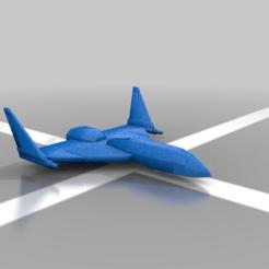 Imprimir en 3D gratis Caza aeroespacial Bashkir, kiwicolourstudio