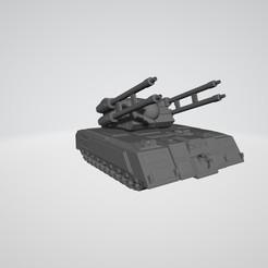 Partisan - Base Version.jpg Download STL file BATTLETECHNOLOGY PARTISAN • 3D print template, kiwicolourstudio