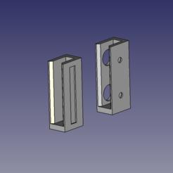 Download 3D printer templates Whiteboard marker holder, mywork
