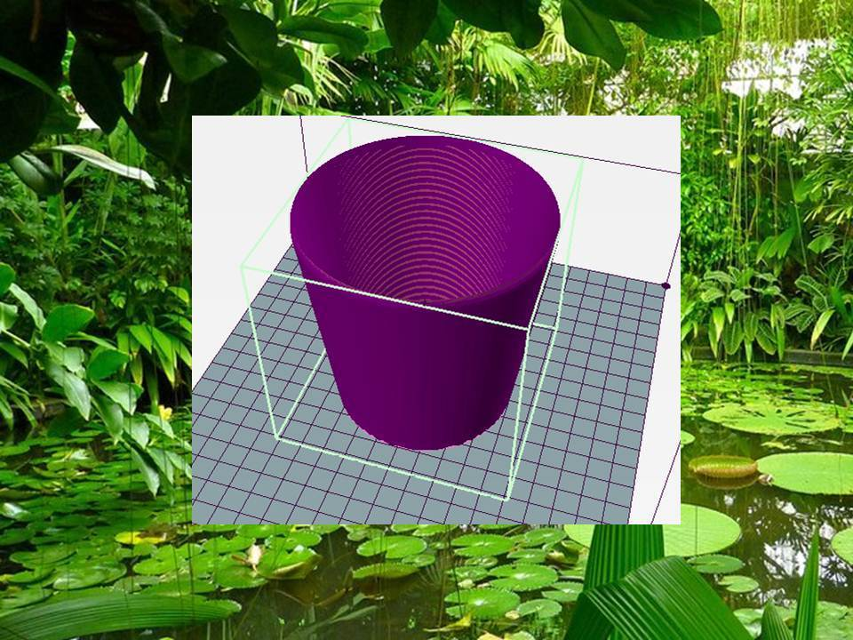 Diapositiva1.JPG Download free STL file Simple pot with drainage • Model to 3D print, diegohoraciobonet