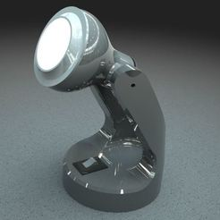 00.JPG Download STL file Mini-Lamp Desk • Object to 3D print, EmmaSenjou