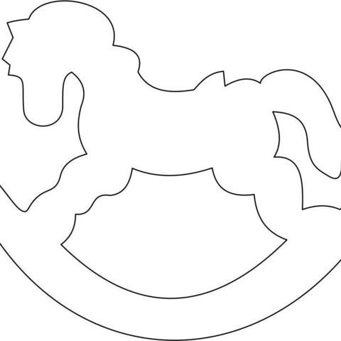 3D print files Rocking Horse, federicoandrades